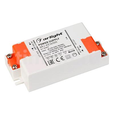 ARJ-KE36500 (18W, 500mA, PFC) (ARL, IP20 Пластик) блок питания