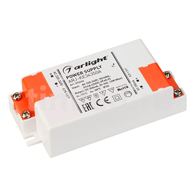 ARJ-KE34350A (12W, 350mA, PFC) (ARL, IP20 Пластик) блок питания