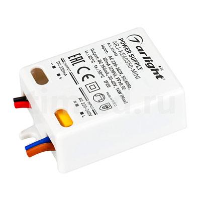 ARJ-KE40350-MINI (14W, 350mA, PFC) (ARL, IP20 Пластик) блок питания