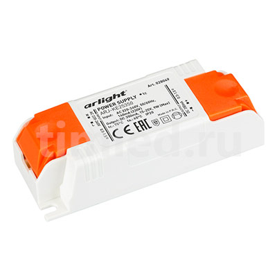 ARJ-KE25350 (9W, 350mA) (ARL, IP20 Пластик) блок питания
