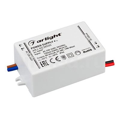 ARJ-KE38500 (19W, 500mA, PFC) (ARL, IP44 Пластик) блок питания